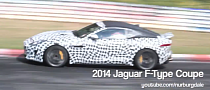 Jaguar F-Type Coupe Prototype Testing Ceramic Brakes [Video]