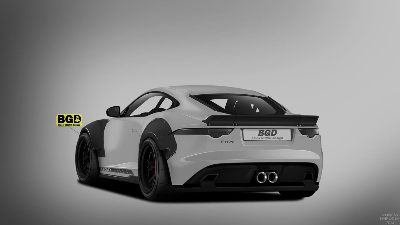 Jaguar F Type Wide Body Kit >> Jaguar F-Type Coupe Rendered with Liberty Walk Wide Body Kit - autoevolution