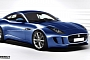 Jaguar F-Type Coupe Rendering Released