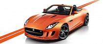 Jaguar F-Type Firesand with Design and Black Packs Showcased in LA [Photo Gallery]