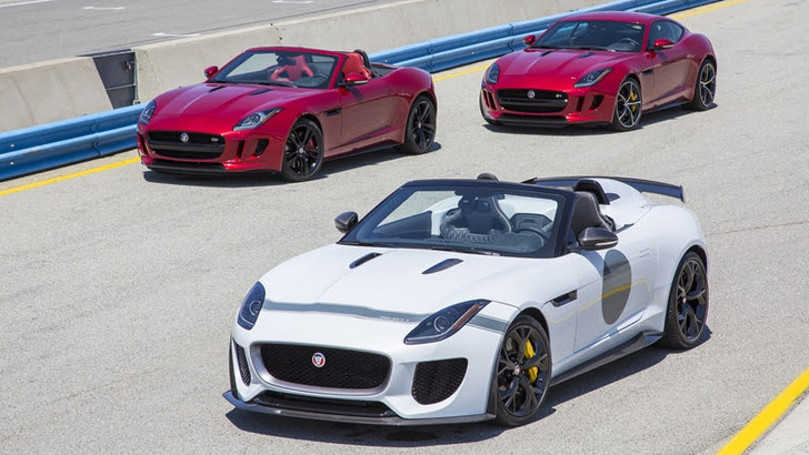jaguar f type project 7 priced for u s starting at 165k photo gallery autoevolution. Black Bedroom Furniture Sets. Home Design Ideas