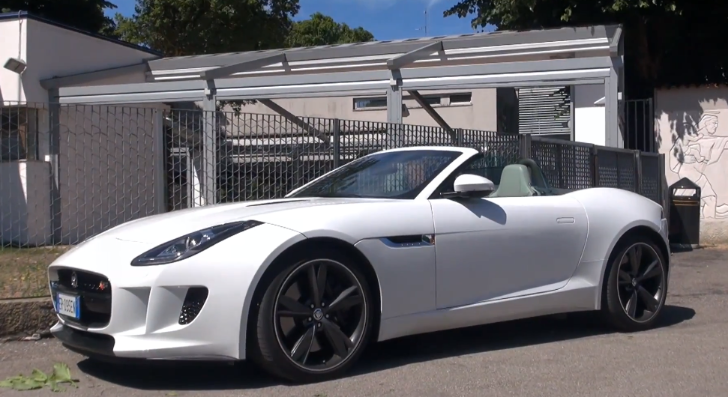 Jaguar F-Type S Exhaust Sound and Walkaround [Video]