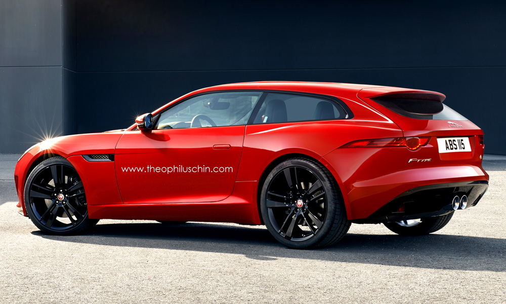 Jaguar F Type Shooting Brake Rendering Is Scorching Hot