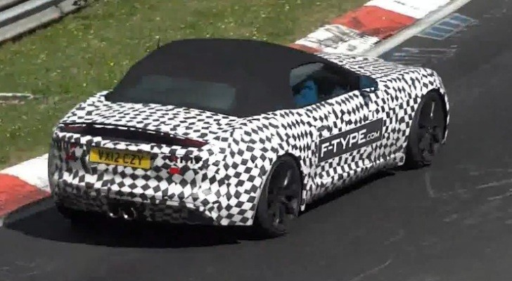 Jaguar F-Type Spied Testing Ahead of Paris Debut [Video]