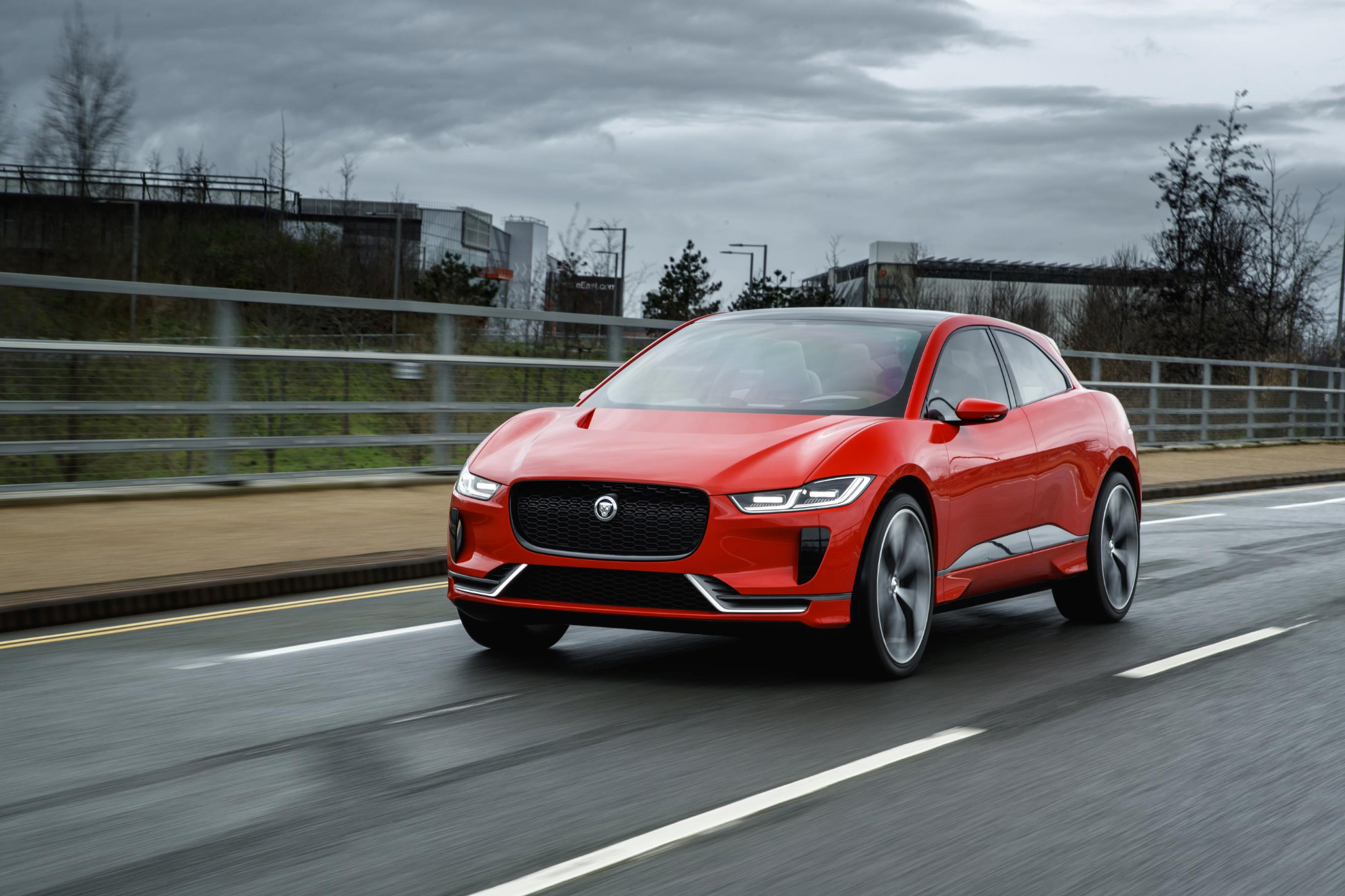 Jaguar's first electric vehicle, the I-PACE is coming 2018
