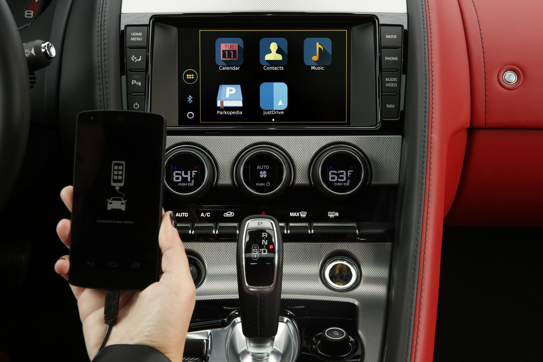 Jaguar Land Rover justDrive App Lets You Control Phone Apps via the