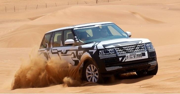 Jaguar Land Rover Opens New Test Center in Dubai