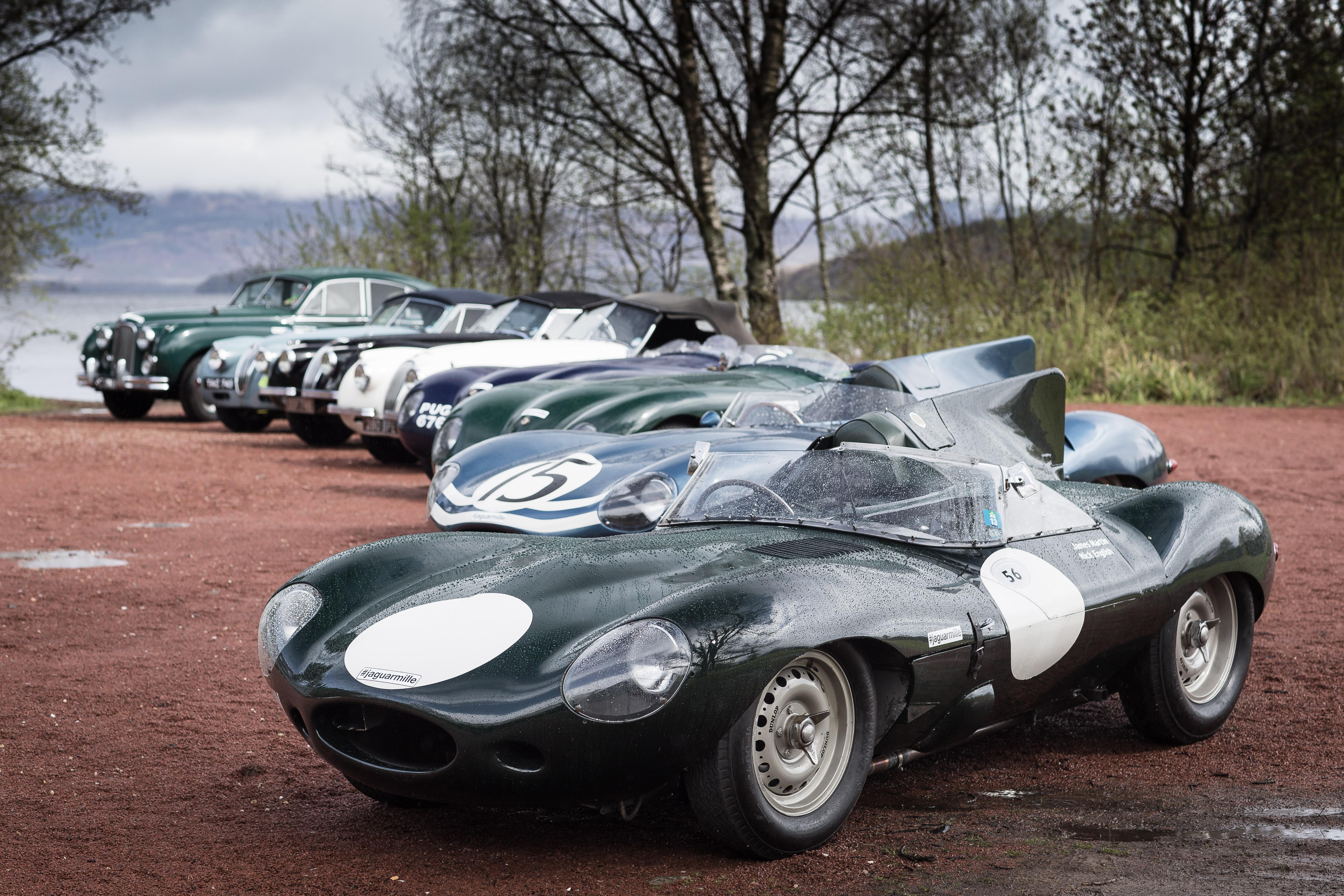 Jaguar Prepares For 2015 Mille Miglia With Scotland Bound