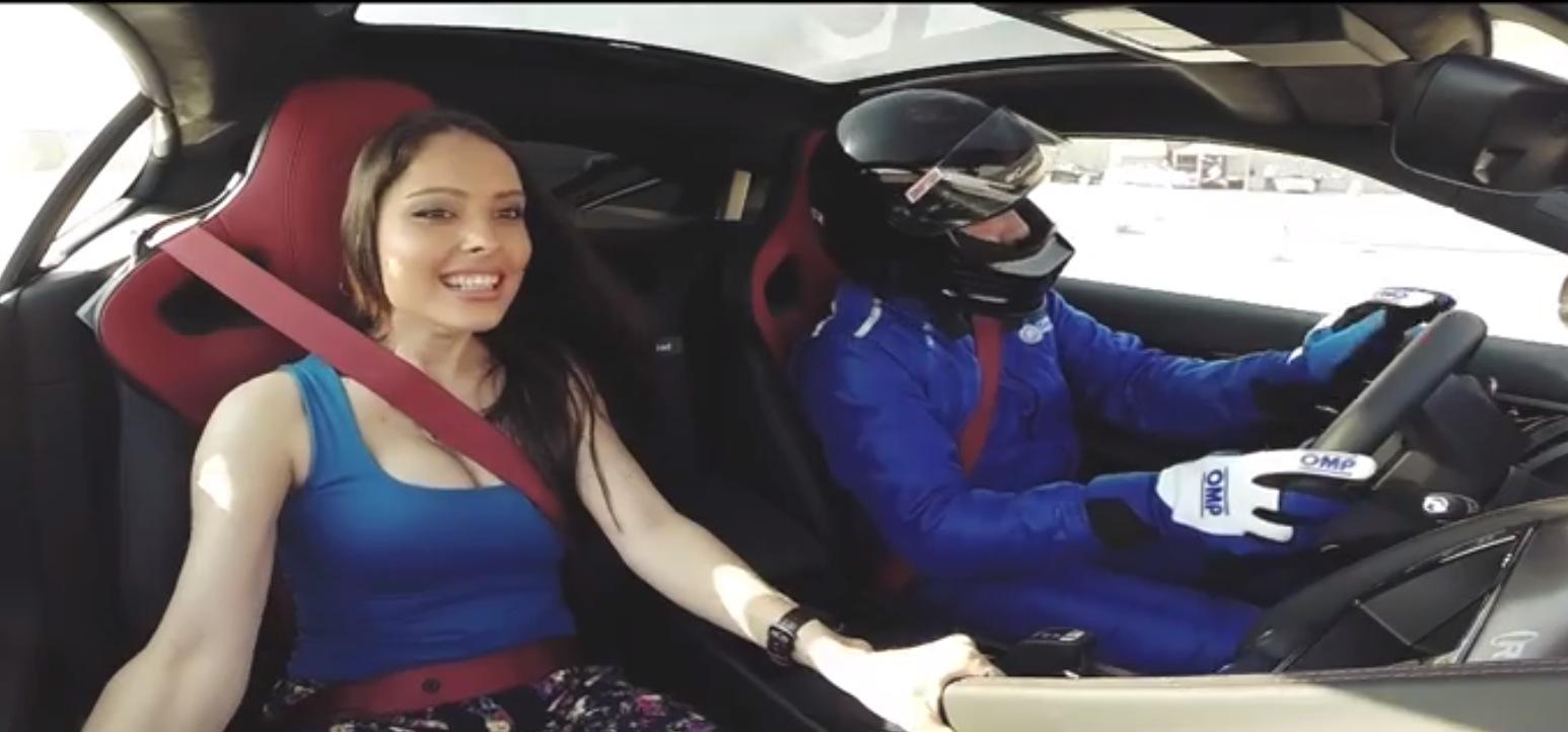 Jaguar Puts Beautiful Middle Eastern Women In F Type R