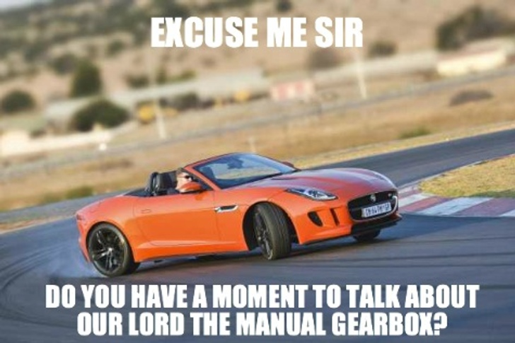 Jaguar Releases a Manual for    the Manual Gearbox: How to