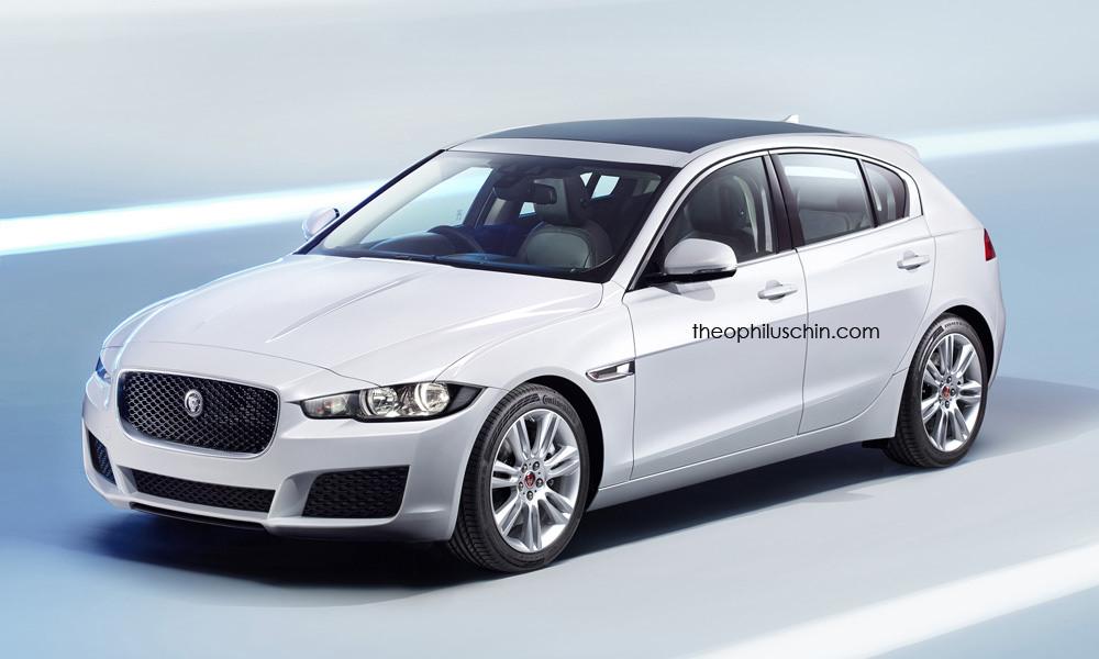 Jaguar XD Premium Five-Door Hatchback Rendered - autoevolution