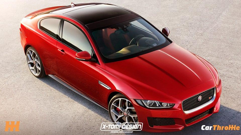 jaguar xe s coupe rendered, looks even better than the sedan