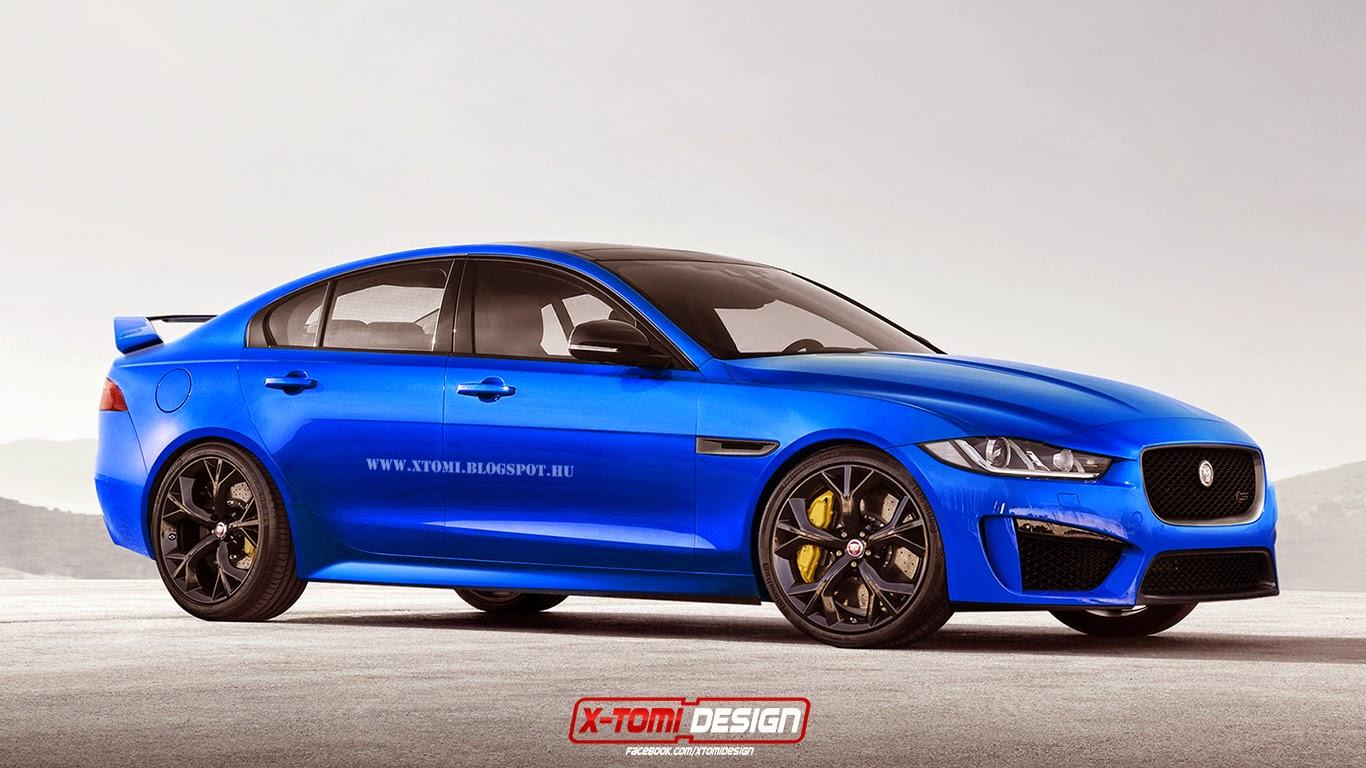 jaguar xer-s rendered: 550 hp supercharged v8 - autoevolution