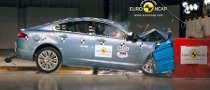 Jaguar XF, Only 4 Stars at Euro NCAP Tests
