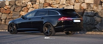 Jaguar XF Sportbrake on ADV.1 Wheels: Eye Candy