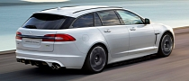 Jaguar XFR-S Sportbrake Rendered