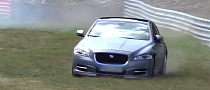 Jaguar XJ Has a Nasty Nurburgring Crash [Video]