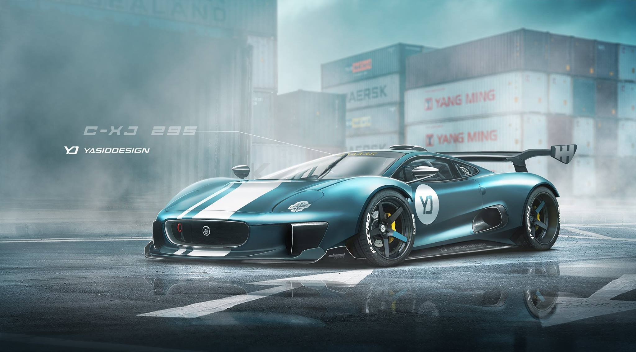 Home Design Company Names Jaguar C X75 Xj220 Rendered As The Supercar The Company