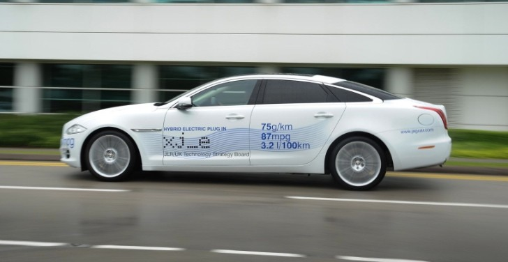 Jaguar XJ_e Plug-In Hybrid Prototype Presented