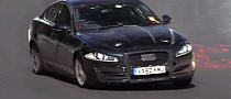 Jaguar XS Test Mule Powered by 4-Cylinder Engine [Video]