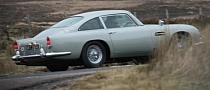 James Bond's Aston Martin DB5 Returns for Skyfall