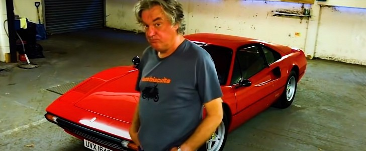 James May Selling His Ferrari 308 Is Emblematic For The Current State Of Things Autoevolution