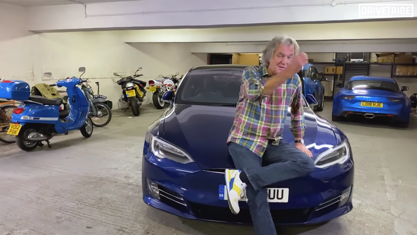 BMW I3 Battery Upgrade >> James May's New Tesla Model S 100D Joins His BMW i3 ...