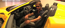 Jamiroquai's Jay Kay Checks Out the New Ferrari 458 Spider [Video]