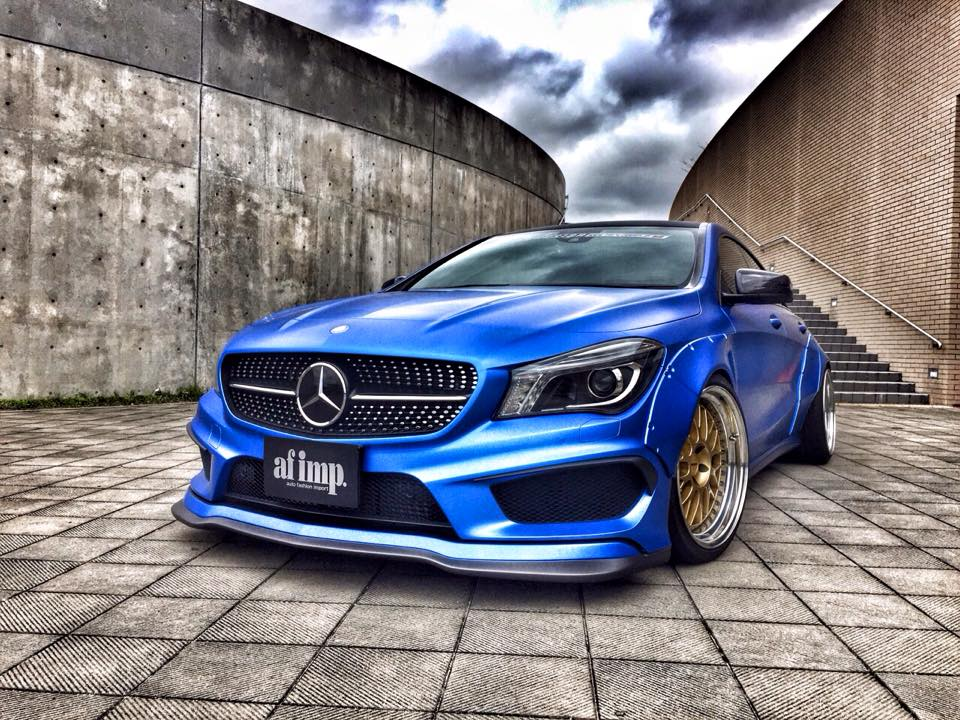 Japan S Fairy Design Gets Mercedes Benz Cla In Touch With Its Crazy