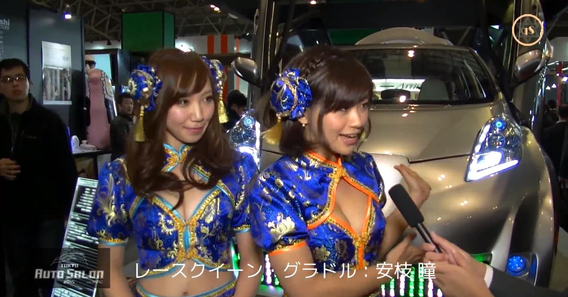 Japanese Girls Explain Bosozoku Leaf With Lambo Doors And