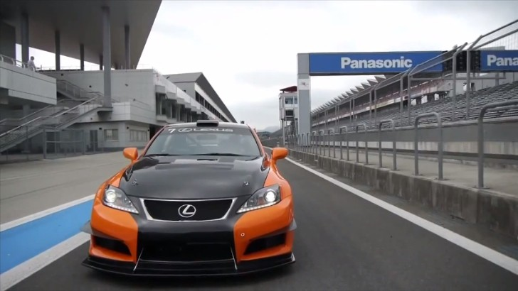 Japanese Journalist Races the Lexus IS F CCS-R [Video]