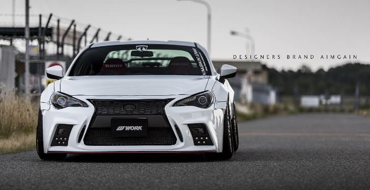 Japanese Kit Turns Toyota GT 86 into Lexus Lookalike with ...