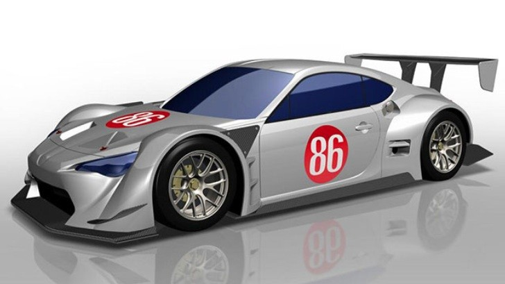 Japanese Super GT's New Regulations Previewed on Toyota GT 86 - autoevolution