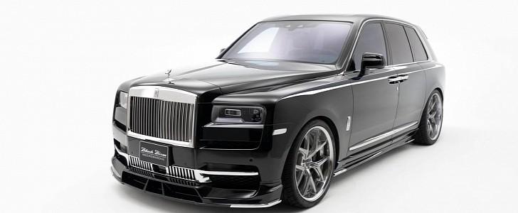"Japanese Tuner's Rolls-Royce Cullinan ""Black Bison ..."