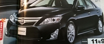 Japanese Version of 2012 Camry Leaked, 2.5L Hybrid Engine Revealed