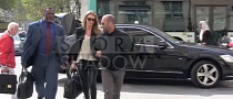 Jason Statham and Rosie Huntington Spotted in S-Class in Paris [Video]