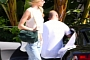 Jason Statham, Rosie Huntington-Whiteley Spotted in Audi R8