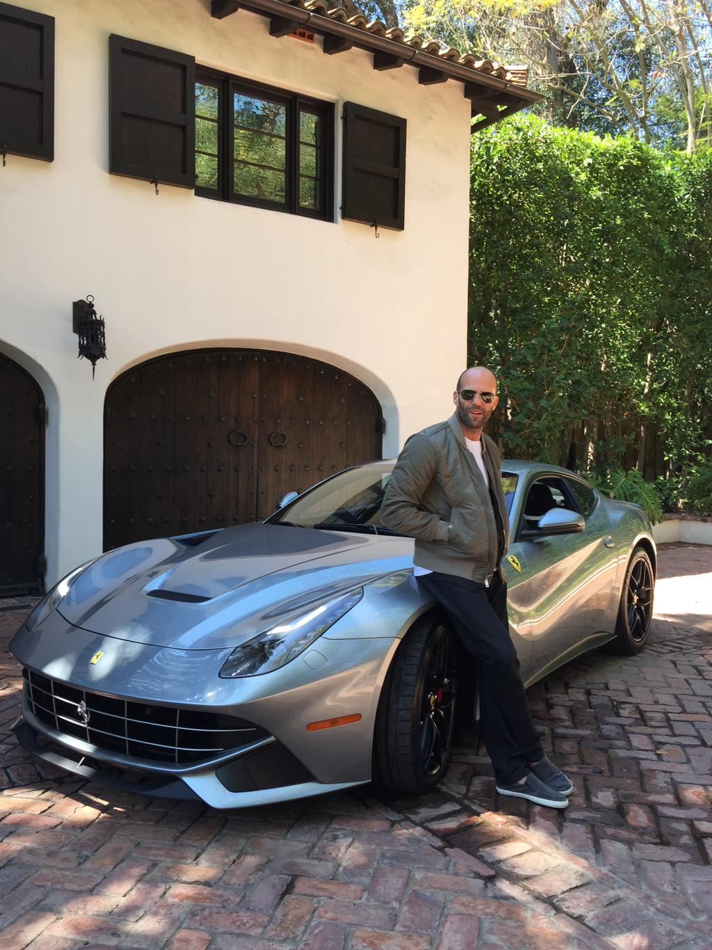 Top Notch Auto >> Jason Statham's Daily Driver Is a Ferrari F12berlinetta: Too Good for an F-Type - autoevolution