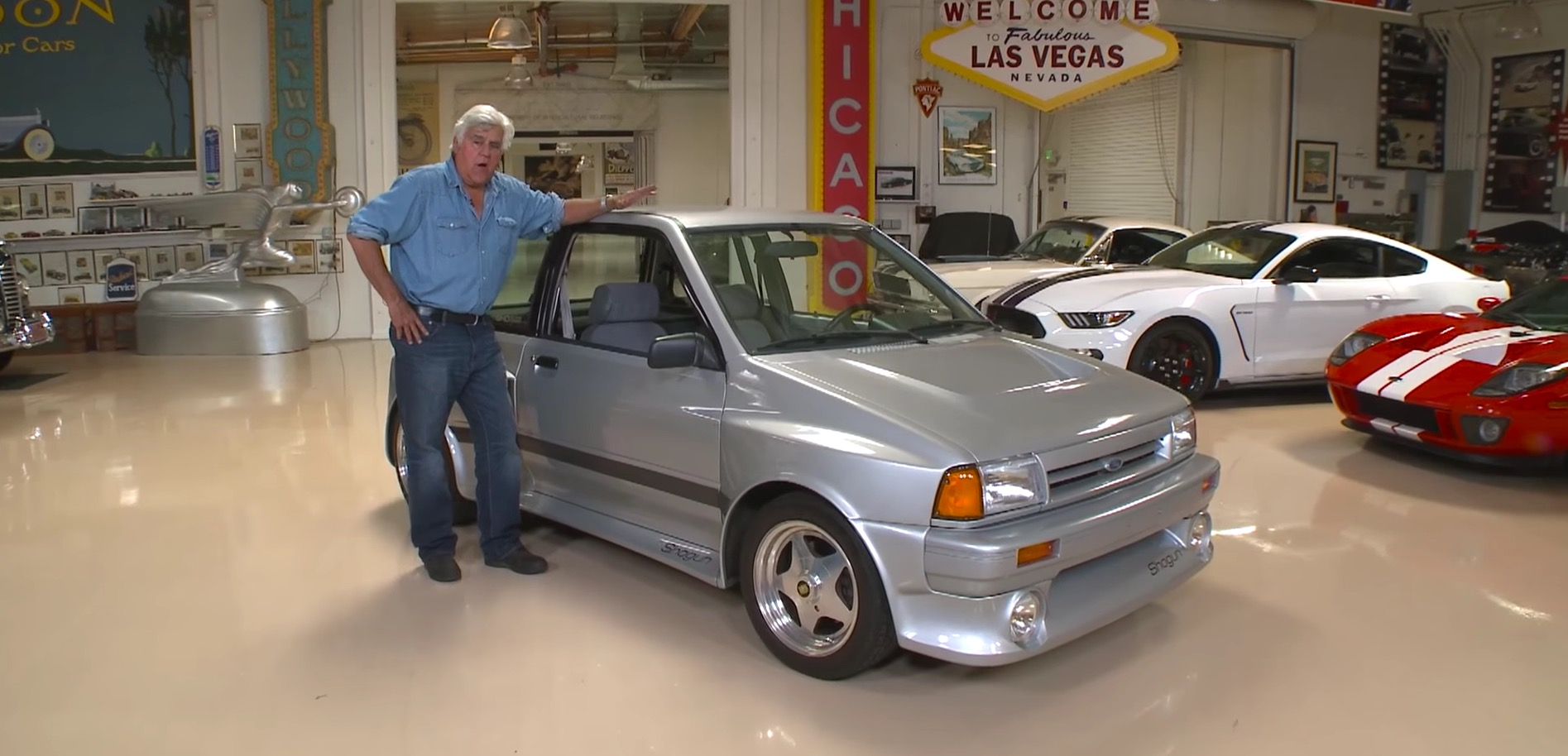 "Buy Junk Cars Seattle >> Jay Leno Showcases His Insane 1989 Ford ""Shogun"" - A Forgotten Sleeper - autoevolution"
