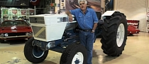 Jay Leno Checks Out Lamborghini Tractor [Video]