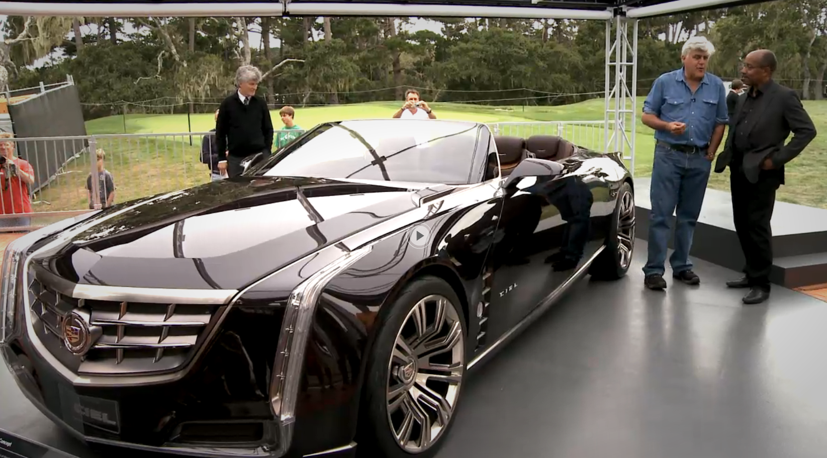 Cadillac Ciel Price >> Jay Leno Does Meet and Great With Cadillac Ciel Concept ...