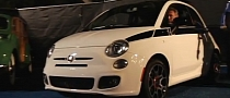 Jay Leno Donates First Customer Fiat 500 for Charity [Video]