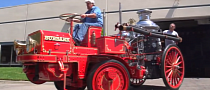 Jay Leno Drives 1914 Christie Fire Engine [Video]