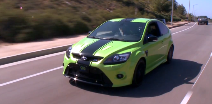 Jay Leno Drives 420 HP Ford Focus RS [Video]
