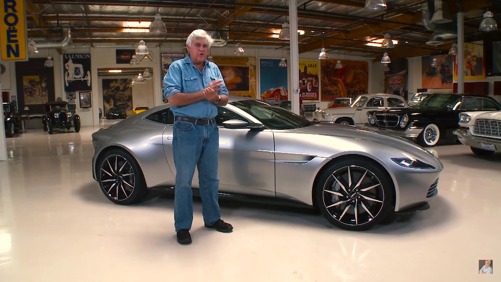 Jay Leno Drives Bondu0027s New Car, The Aston Martin DB10