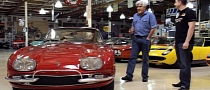 Jay Leno Drives High Mileage Lamborghini 400GT 2+2 [Video]