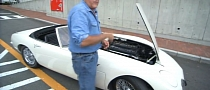 Jay Leno Drives James Bond Toyota 2000GT Convertible [Video]
