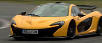 Jay Leno Drives McLaren P1 on Top Gear Track, Says He Ordered One [Video]