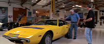 Jay Leno Drives Rare, Unrestored Maserati Khamsin [Video]