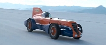 Jay Leno Drives the Mormon Meteor at Bonneville Salt Flats